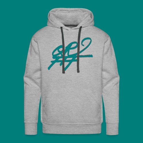 QRFFF RAW SHARPIE WINNING GREEN - Men's Premium Hoodie