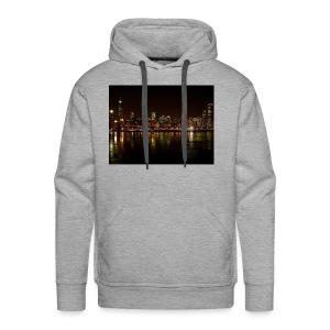 chicago skyline - Men's Premium Hoodie