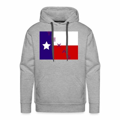 Texas Flag - Men's Premium Hoodie