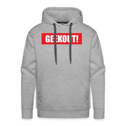 Geekout Gaming Apparel Branded Tee - Men's Premium Hoodie
