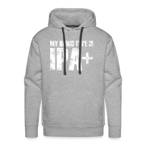 My Blood Type is IPA - Men's Premium Hoodie