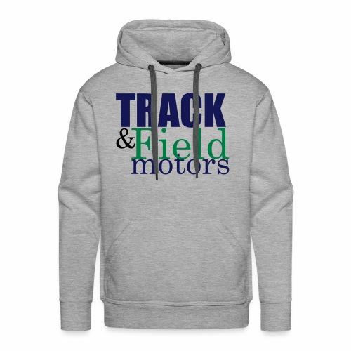 Track & Field Logo - Men's Premium Hoodie