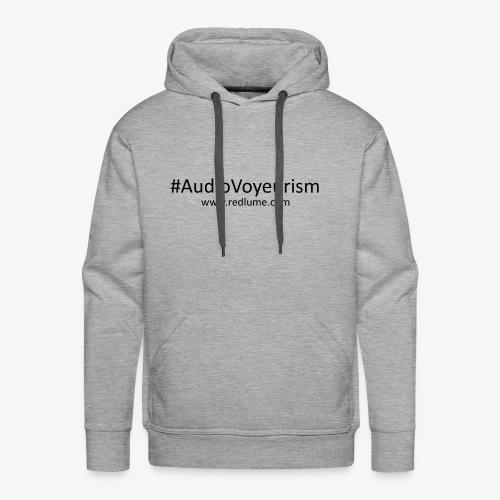 #AudioVoyeurism - Men's Premium Hoodie