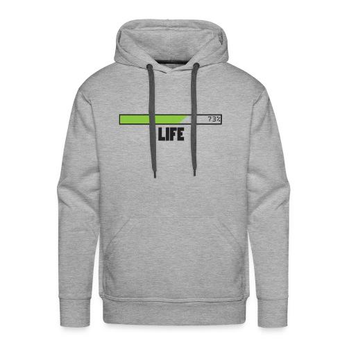 life T-shirt design by Jefranul - Men's Premium Hoodie