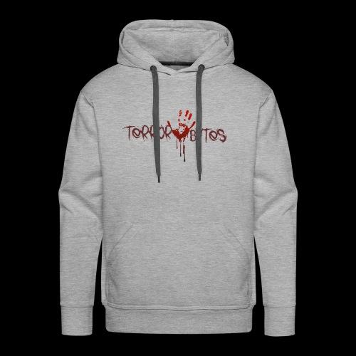 Terror-Bytes Blood Hand - Men's Premium Hoodie