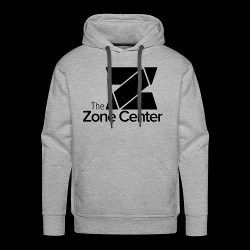 Zone Center T Shirt Logo Black - Men's Premium Hoodie