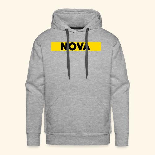 Nova Box Logo - Men's Premium Hoodie