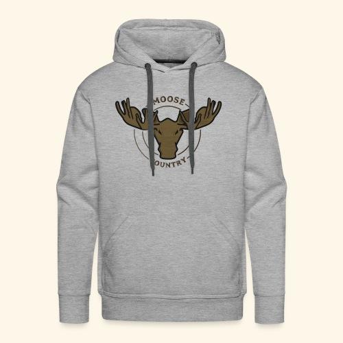 Moose Country - Men's Premium Hoodie