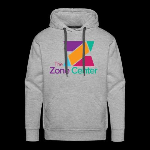 Zone Center T Shirt Logo MultiColor - Men's Premium Hoodie