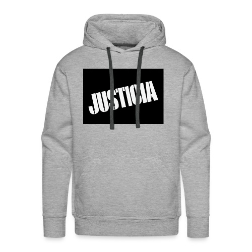Justicia 2 Black - Men's Premium Hoodie