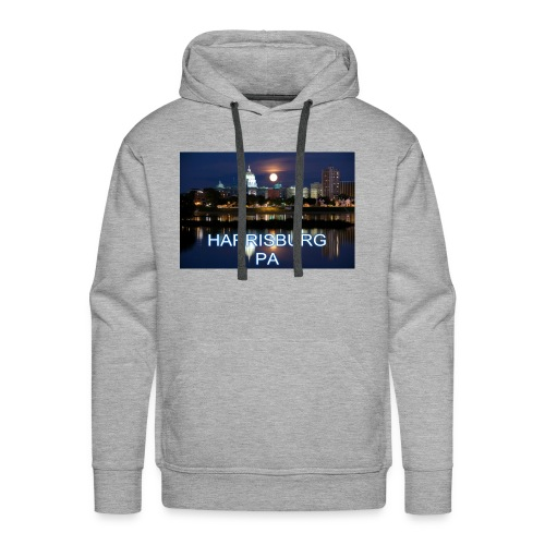 Harrisburg is home - Men's Premium Hoodie