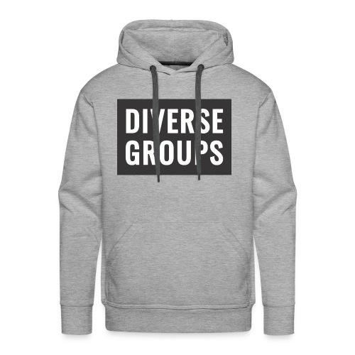 DG Logo black - Men's Premium Hoodie