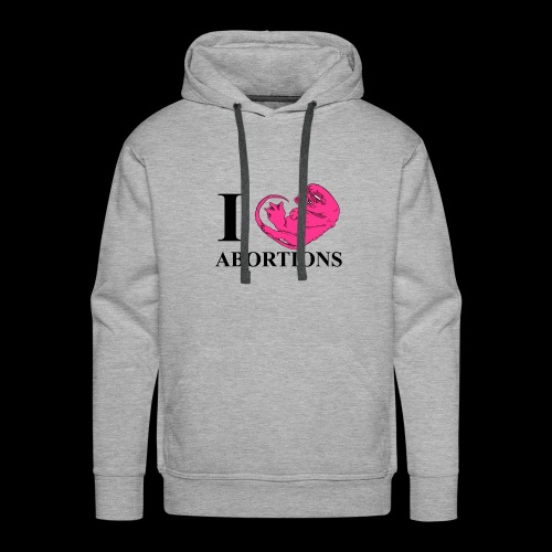 Support the reduction of over crowded buses - Men's Premium Hoodie