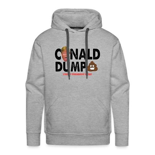 Conald Dump Worst President Ever - Men's Premium Hoodie