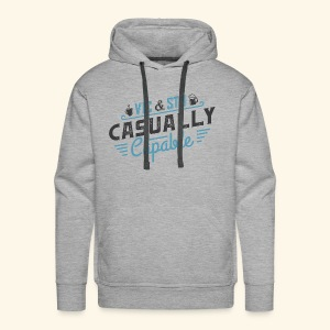 Casually Capable - Men's Premium Hoodie