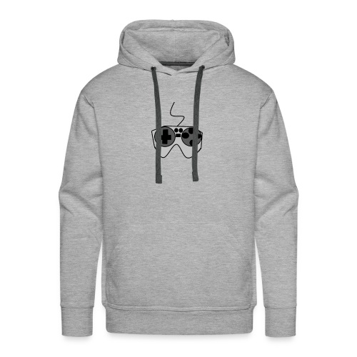 Video Game Controller Logo - Men's Premium Hoodie