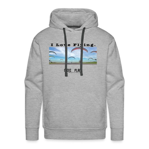 i love flying1 - Men's Premium Hoodie