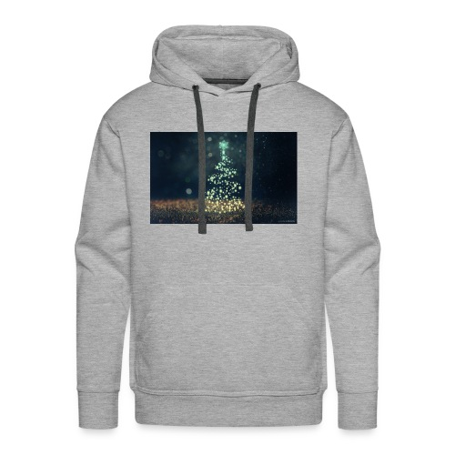 Christmas Tree - Men's Premium Hoodie