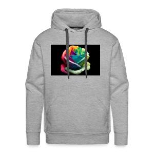 Colorful Rose Wallpapers 1 - Men's Premium Hoodie