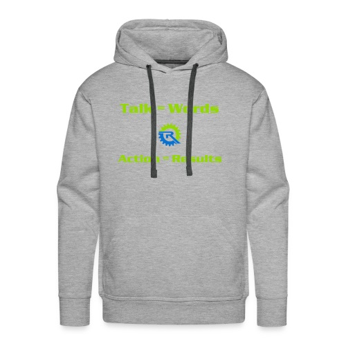 Action = Results - Men's Premium Hoodie