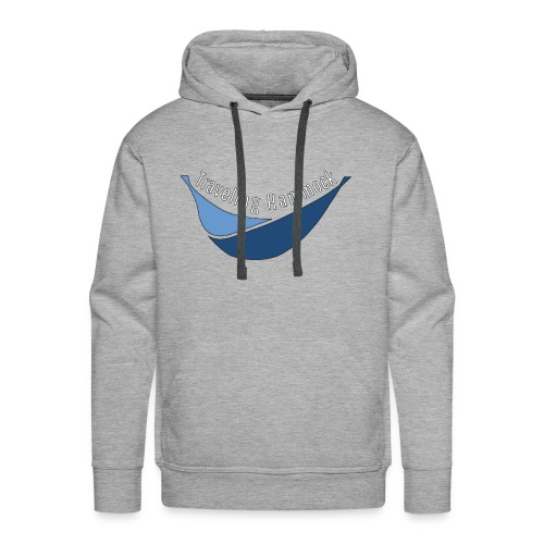 Traveling Hammock Logo without the background - Men's Premium Hoodie