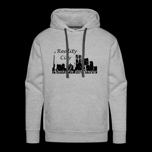 Reality City - light - Men's Premium Hoodie