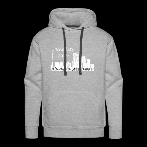 Reality City - Dark - Men's Premium Hoodie