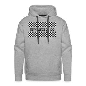 checkered unwanted - Men's Premium Hoodie