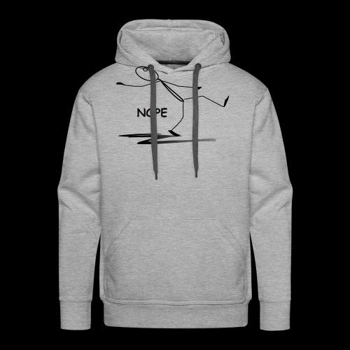 NOPE - Men's Premium Hoodie