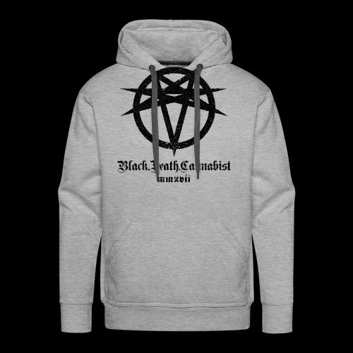 BlackDeathCannabist Logo - Men's Premium Hoodie