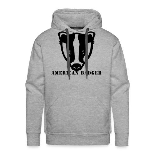 American Badger - Men's Premium Hoodie