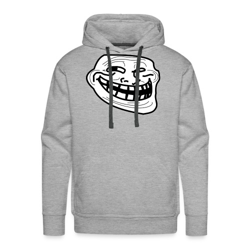 Troll Face short sleeved shirt - Men's Premium Hoodie