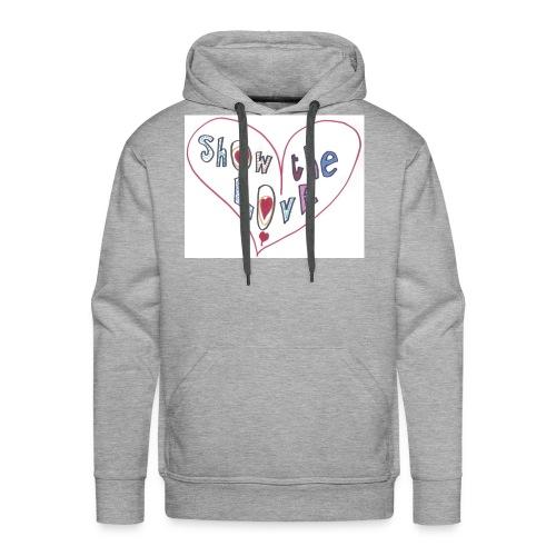 Show the Love - Men's Premium Hoodie