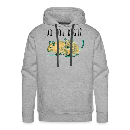 Do You Degu ? - Men's Premium Hoodie