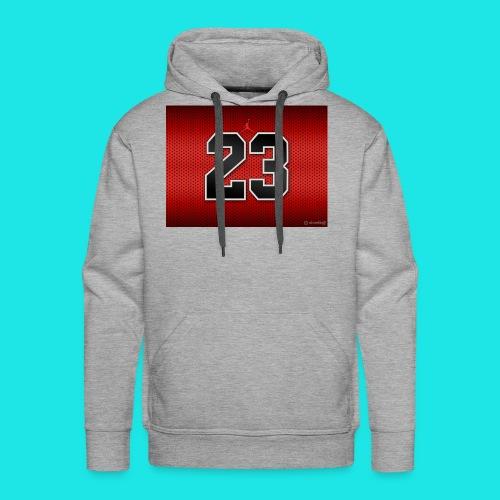 Jordan_Bulls_Jersey - Men's Premium Hoodie