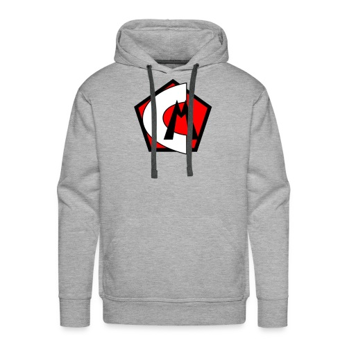 Captain Marvelous Logo - Men's Premium Hoodie