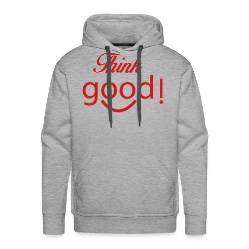 its a image about positivity. - Men's Premium Hoodie