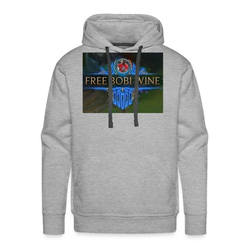 FREE BOBI WINE - Men's Premium Hoodie