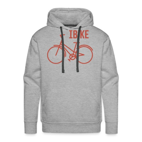 I Bike - Men's Premium Hoodie