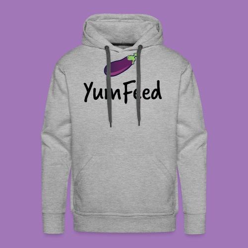 YumFeed logo - Men's Premium Hoodie