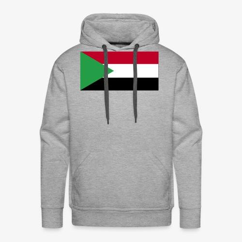 Sudan flag - Men's Premium Hoodie