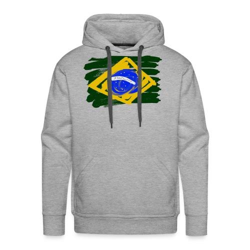 Brazilian Flag - Men's Premium Hoodie