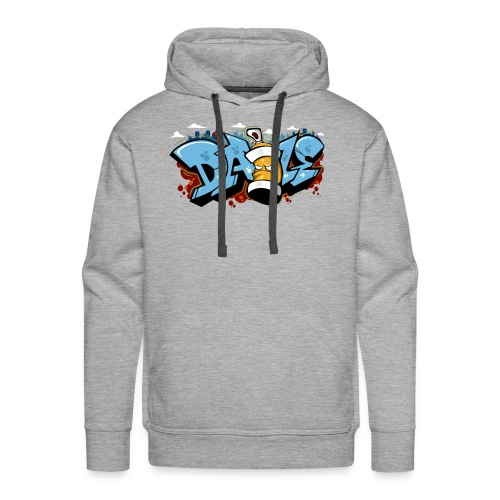 Graffiti art, Hip-Hop Style, Street Wear - Men's Premium Hoodie
