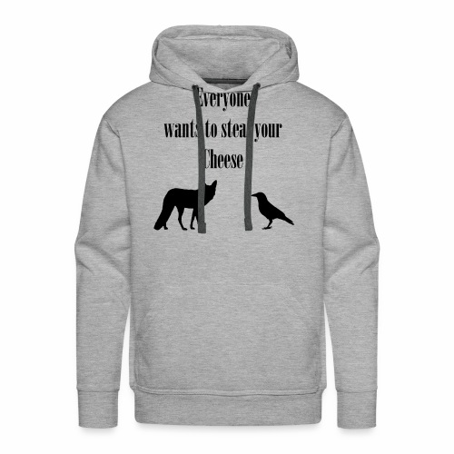 The Fox and the Crow - Men's Premium Hoodie