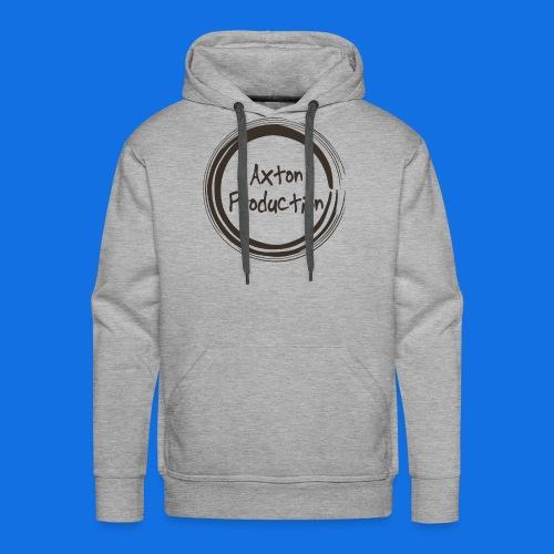 AxtonProduction Official logo design - Men's Premium Hoodie