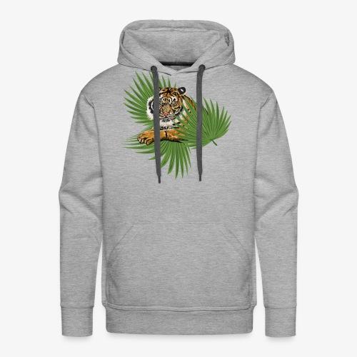 Relaxed Tiger - Men's Premium Hoodie