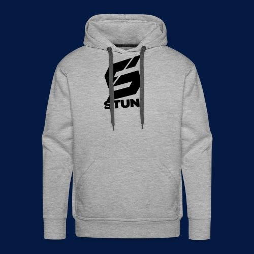 Stun Logo with text - Men's Premium Hoodie