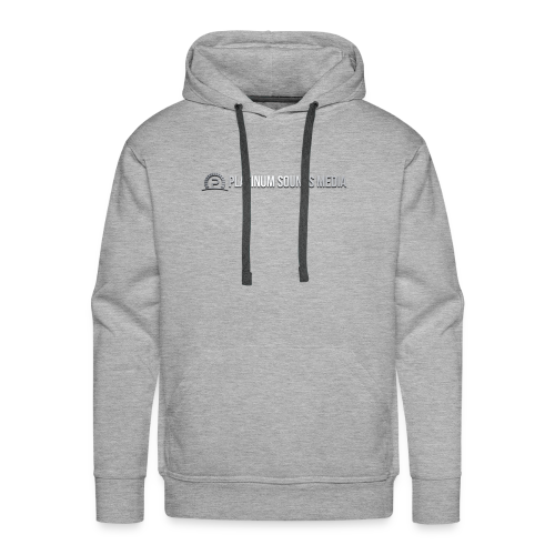 Original Logo of Platinum Sounds Media - Men's Premium Hoodie