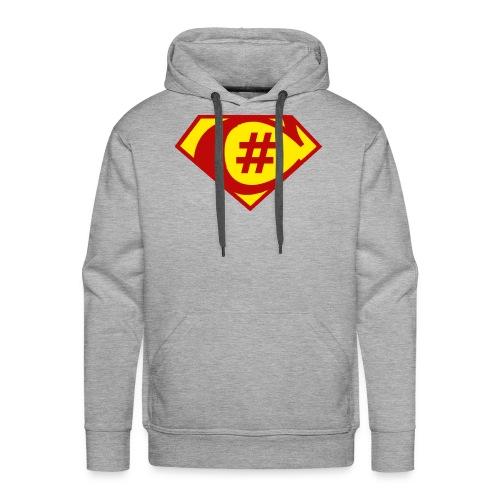C Sharp Hero Developer - Men's Premium Hoodie