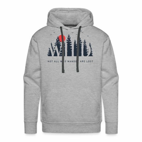 Wild - Wanderlust collection - Men's Premium Hoodie